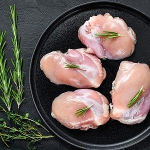 Plain chicken thigh fillets